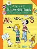 Schlau für die Schule: Mein buntes Sticker-Lernbuch: Buchstaben, Silben, Wörter: Alles für die 1. Klasse: Mit Belohnungsstickern