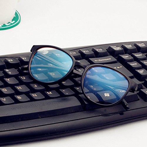 Sonnenbrillen Computerbrille Unzählige Männer Heiße Brillen-computer Gläser Gläser Helles Schwarz (Taschenklatsche)