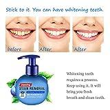 Seguire Whitening Zahnpasta Ohne Fluorid Zahncreme Weisse Zähne, Kampf Zahnfleischbluten Frische Zahnpasta, 220ml Drücken Sie Typ Intensive Fleckenentfernung Baking Soda Toothpaste (Blaubeere)