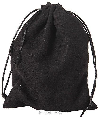 Bartl 110560 - Samtsäckchen Schwarz, groß