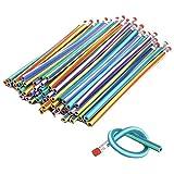 Lumanuby Lot de 25 crayons à papier Flexible Magic Crayons pliable souple de crayon Crayons Stylos magique pour enfant Cadeau école Maternelle école outils de peinture 18 cm