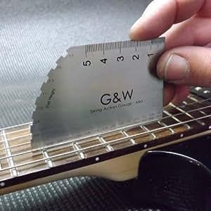 Guitar String Action Gauge - MM