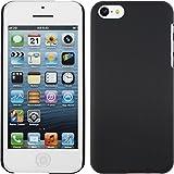 PhoneNatic Coque Rigide pour Apple iPhone 5c - gommée noir - Cover Cubierta + films...