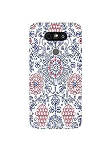 Abaci designed LG G5 Mobile Back cover with Perfect Matte finishing and Cute Cat Illustration design(Multicolor)