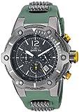 Invicta 25471 - Reloj de pulsera hombre, Poliuretano, color Verde