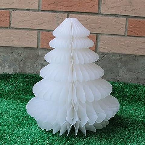 SUNBEAUTY 3 piezas decoración de árbol de papel para fiesta cumpleaños festival decoración de hogar dormitorio sala