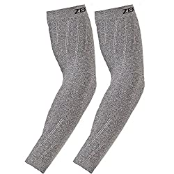 Zensah Compression Arm Sleeves - Running Arm Sleeves, Shooter Sleeves