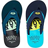 Animal 2018 Jekyl Slice Junior Flip Flops Bluebird Blue FM8SN601