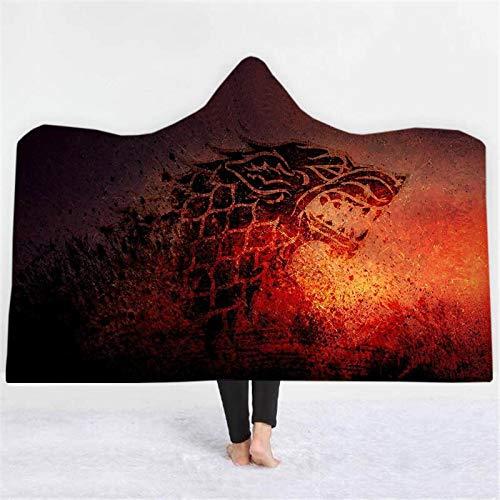 Manta capucha/manta   Juego Tronos   150 x 200 cm