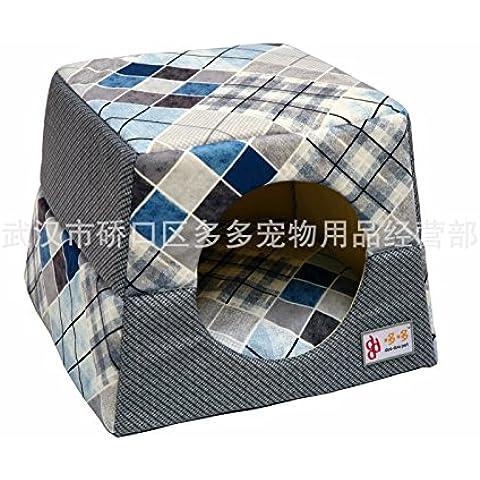 LQZ-Big Quattro stagioni di piegatura disponibili a duplice uso prodotti pet pet pet cane nido caldo Kennel lettiera di