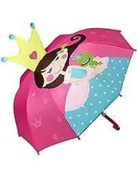 VON LILIENFELD® Regenschirm Kind Kinderschirm Junge Mädchen Motiv 15 Designs (bis ca. 8 Jahre)