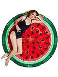 BigMouth Inc nbsp;Rundes Strandtuch Wassermelone