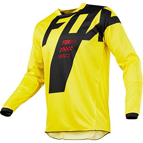 Sudadera de motocross Fox 180 Mastar 2018. Color amarillo. Para niños y  jóvenes 6f78b622ae8