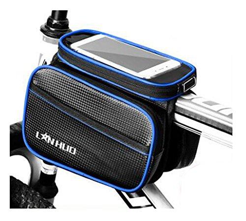 Bike Bag Bunte Fahrrad Lenker Pakete für 6 Zoll Telefon Multi-Funktions-Fahrrad-Zubehör#23