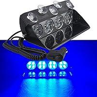 ARUNDEL SERVICES EU 12 Led Kit de Luces estrobosc/ópicas luz Coche Luces estrobosc/ópicas Luces Modelo RC 1//10 1//8 HSP Tamiya CC01 D90 SCX10 Modelo de Coche RC