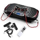 Genki Vibration Music Power Plate Bluetooth USB Panel Slim Body Massage Fitness Machine