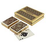 Mughal Jaali Playing Cards Set of 2