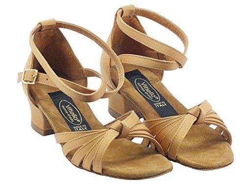 Vitiello Dance Shoes  Sandalo l.a. raso tanganica tacco 2cm,  Mädchen Standardtanz Tanganica