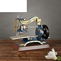 CWJ Decoraciones-Retro máquina de Coser Vintage Modelo casa Adornos de decoración Suave Tienda de