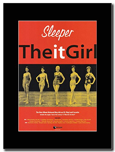Sleeper - The It Girl. Magazine Promo on a Black Mount
