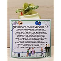Veterinary Nurse Survival Kit - A Unique Fun Novelty Gift & Keepsake !