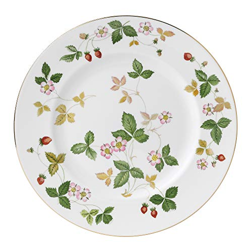 Wedgwood Wild Strawberry 10-3/4-Inch Dinner Plate Wedgwood Strawberry