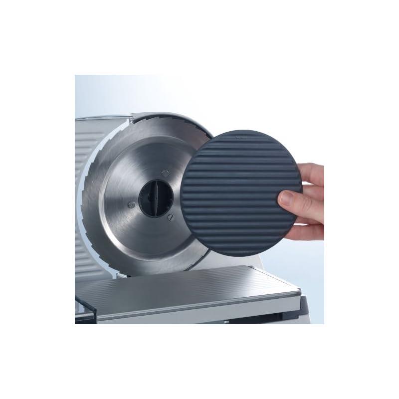 Graef VIVO V 20 – slicers (Stainless steel, Silver, 301 x 376 x 247 mm, 341 x 422 x 290 mm)