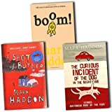 Mark Haddon Collection 3 Books Set Pack RRP: £21.97 (The Curious Incident Of The Dog In The Night-Time, Boom!, A Spot of Bother)
