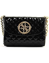 Guess Bags G LUX MINI CROSSBODY FLAP en Negro