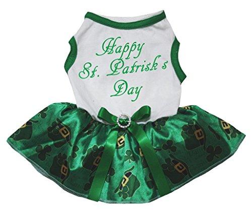 Petitebelle Hundekleid, Motiv: St. Patrick's Day -
