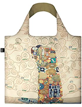 GUSTAV KLIMT The Fulfilment Bag: Gewicht 55 g, Größe 50 x 42 cm, Zip-Etui 11 x 11.5 cm, handle 27 cm, water resistant...