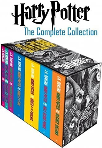 HARRY POTTER PAPERBACK BOX SET: COMPLETE SEVEN VOLUME COLLECTION.