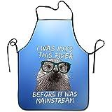 Unisex Hipster nutria Kayak pesca Rafting Chef delantales adultos delantales