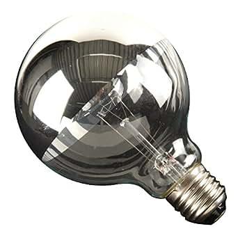 Linea Verdace LP 13814261 Ampoule Globe 40 W E27 Argent