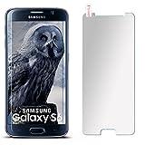 moex 9H Panzerfolie für Samsung Galaxy S6 | Panzerglas Matt Glasfolie [Tempered Glass] Screen Protector Displayschutz-Folie für Samsung Galaxy S6 Schutzfolie Glas
