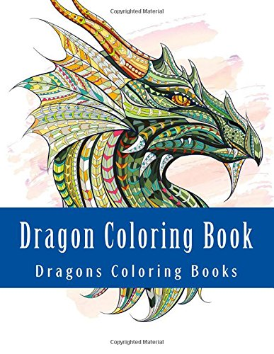 Dragon Colouring Book For Adults