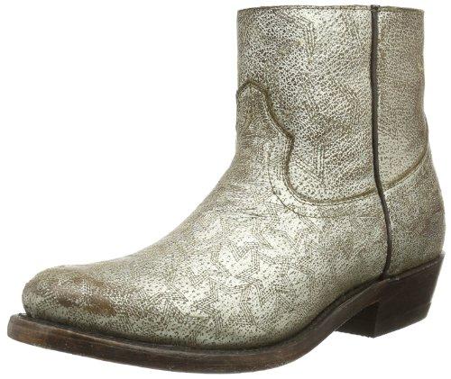 Ash Womens KUT STAR Biker Boots Gold Gold (platine 7037) Size: 36.5