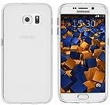 mumbi Schutzhülle Samsung Galaxy S6 / S6 Duos Hülle transparent weiss (Slim – 1.2 mm) - 2