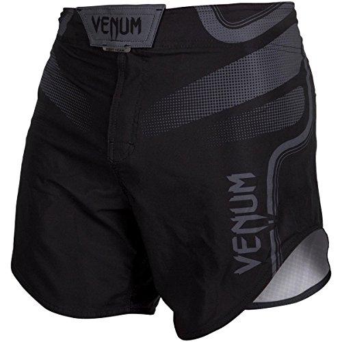 Venum Tempest 2.0 Short d'Entraînement Homme, Noir/Gris, FR : S (Taille Fabricant : S)
