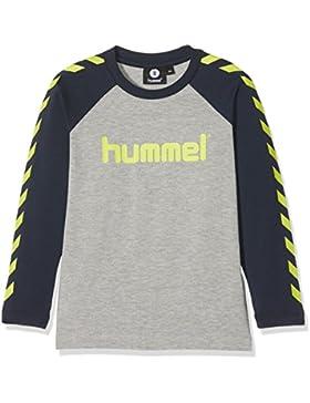Hummel Joven hmlboys L/S–Camiseta, niño, 200066-2800, Medium Melange, 164