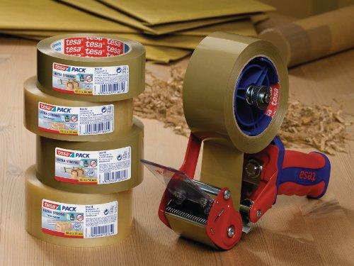 tesa Packband Ultra Strong, beste tesa Qualität, braun, 66m x 50mm - 6