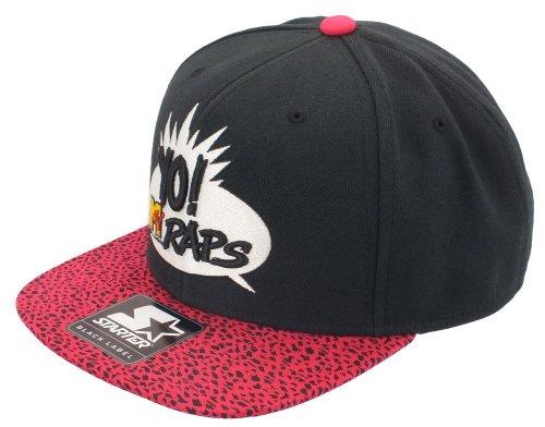 mtv-starter-snapback-mt006-mtv-rap-logo-black-pink-grossentabelle-one-size-fitts-all