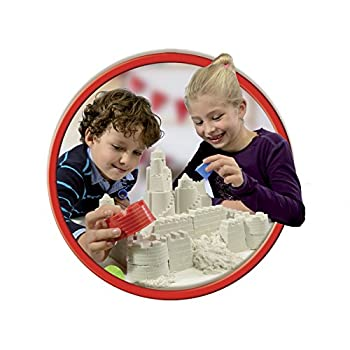 Goliath 83219 - Super-sand-set Castle, Modellierbarer Magischer Sand Bringt Burgen Ins Kinderzimmer, Handliche Sandkasten-box, Bunte Burg-förmchen, Ab 4 Jahren 2