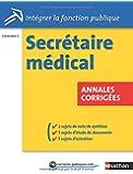 Secrétaire médical - Annales corrigées