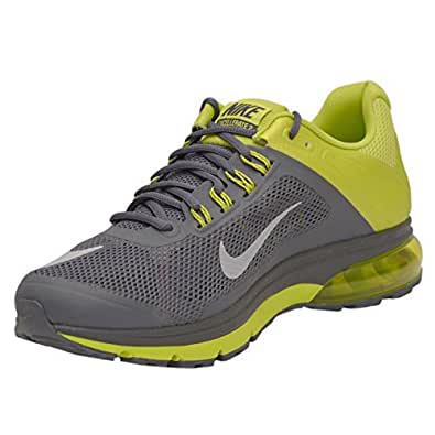 Nike Men's Air Max Excellerate+ 2 Dark Magnet Grey,White,Frc Green  Running Shoes -11 UK/India (46 EU)(12 US)