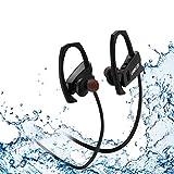 LOBKIN Auriculares Bluetooth Deportivos, Resistentes Al Sudor, con Una Autonomia de hasta 6...