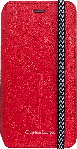 Custodia a portafoglio: Paseo di Christian Lacroix rouge per Apple iPhone 6/6S
