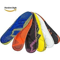 SOUMIT Plantillas deportivas - Soft Pad de Esponja, Excelente Absorción de Choque para Caminar, Running Working (Men, EU40-46)