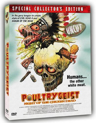Poultrygeist SCE UNCUT (Troma) [Schuber& 4 Sammelkarten]