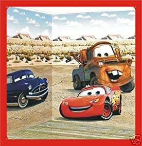 Scene de chambre Cars Disney Decoration murale